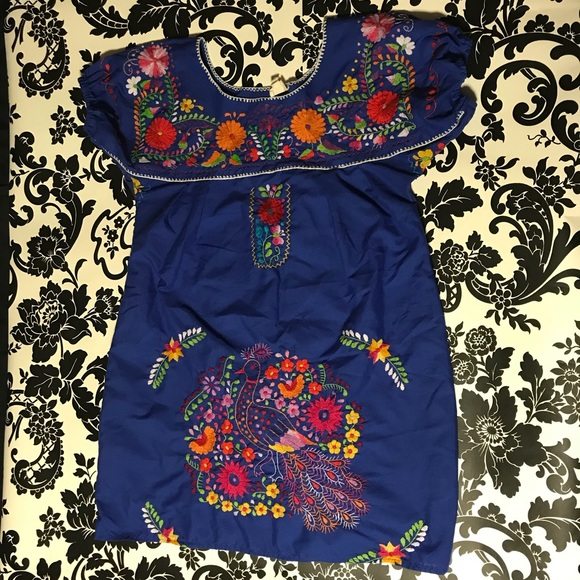 Urban Renewal Dresses Mexicali Embroidery Mini Dress Poshmark